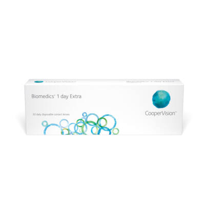 COOPERVISION BIOMEDICS 1 DAY EXTRA